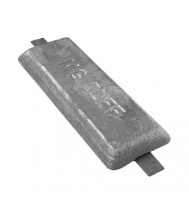 Aluminium Hull Anode - AD60 - Weld On - 2.5 KGS NOM NET WEIGHT