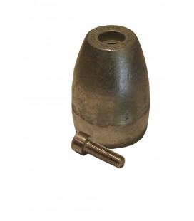 Aluminium Engine Anode - CM865182A - MERCURY/MERCRUISER (2004+) BRAVO 3 PROP NUT ANODE