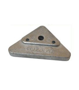 Zinc Engine Anode - CM872793Z - VOLVO PENTA SIDE MOUNTED TRIANGLE FOR 290, 290DP, SX, DP-X.