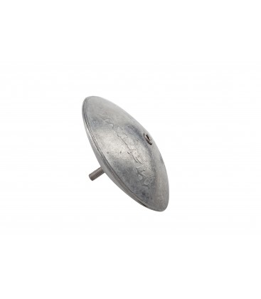 Zinc Hull Anode - CMR04 - DISC (PAIR) 127mm DIA X 16mm THICK