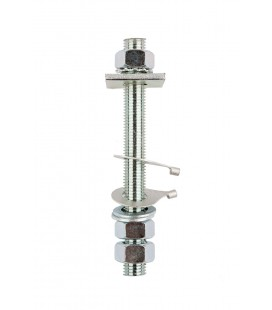 Ancillary Item Studs - M10BSS - STAINLESS STEEL STUD ASSEMBLIES C/W NUTS & WASHERS FOR WOOD AND GRP VESSELS