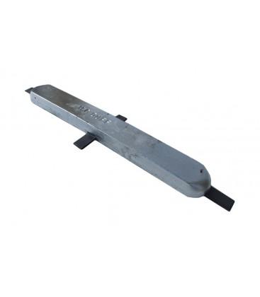 Aluminium Hull Anode - AD82 - Weld On - 7.5 KGS NOM NET WEIGHT