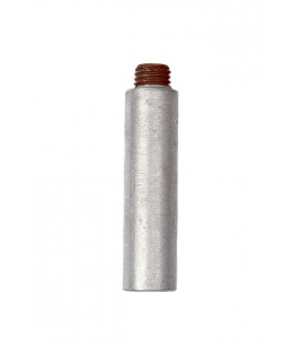 "Zinc Pencil Anode - P10504 - 1.05"" DIA X 4"" (USE WITH PP1000B PLUG)"