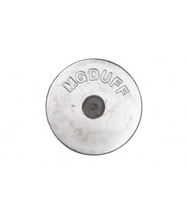 Zinc Hull Anode - ZD35 - DISC 3.5 KGS NOM NET WEIGHT 160MM DIA