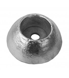 Zinc Hull Anode - ZD51 - DISC 0.4KGS NOM NET WEIGHT 70MM DIA