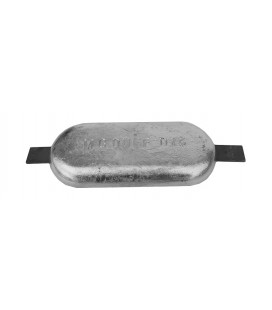 Zinc Hull Anode - ZD73 - 10 KGS NOM NET WEIGHT