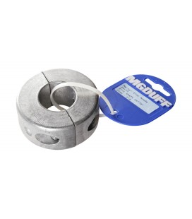 Zinc Shaft Collar Anode - ZSC25T - TO SUIT SHAFT DIA 25MM X 15MM THICK