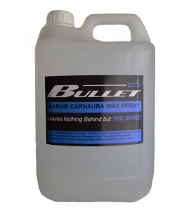 Bullet Pre mixed Carnauba Multi Surface spray wax- 500ml